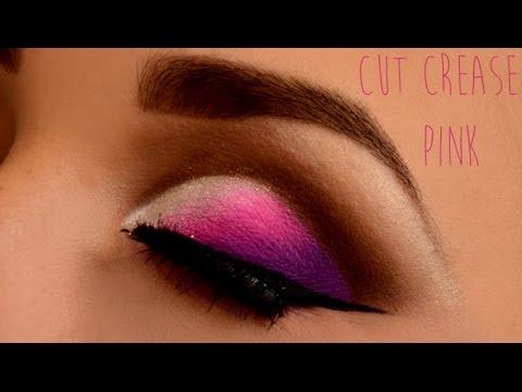 Maquiagem Cut Crease - Pink