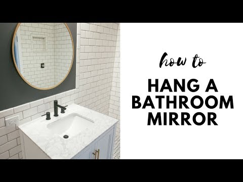 How To Hang A Round Mirror