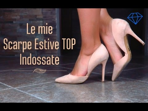 LE MIE SCARPE ESTIVE TOP INDOSSATE | Michela Parisi