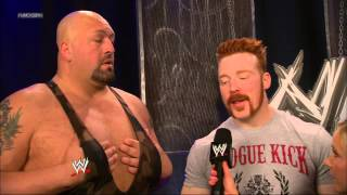 New WWE announcer Renee Young interviews Randy Orton, Sheamus & Big Show about whether they can stay