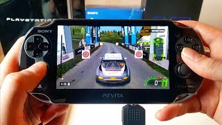 WRC 5 Gameplay - PS Vita 2019