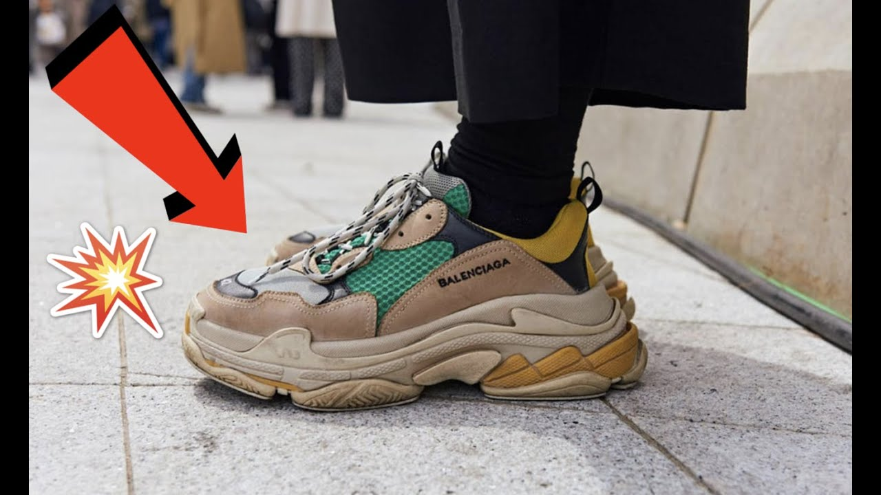 BALENCIAGA TRIPLE S Review in Green and