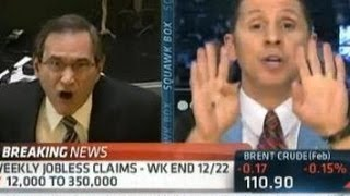 CNBC Anchor Completely Flips Out Over Fiscal Cliff