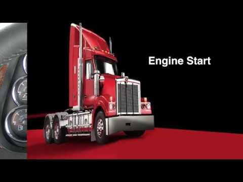 014 T610 Driver Training Cummins engine start up