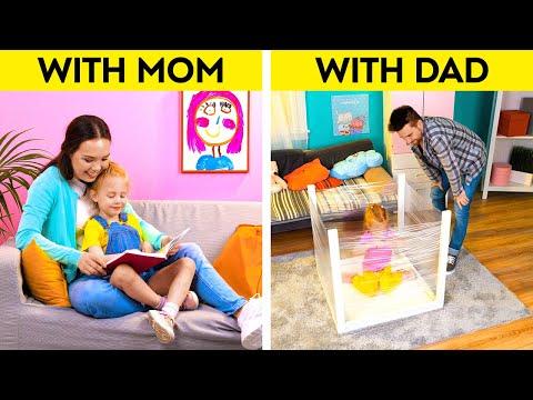 Download MOM vs DAD    Fantastic Hacks & Tips For Crafty Parents