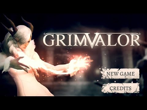 My First Look At Grimvalor, A Dark Souls Like Game