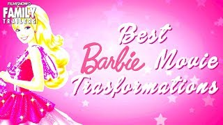 BARBIE | Top 10 Transformations in Barbie Movies - Which one is your favorite?