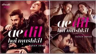 Ae Dil Hai Mushkil Title Tack - Karaoke