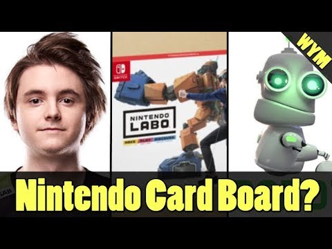 Nintendo Labo Revealed, Overwatch Pro Dropped Out of School, Steam Competitor Allows Reselling