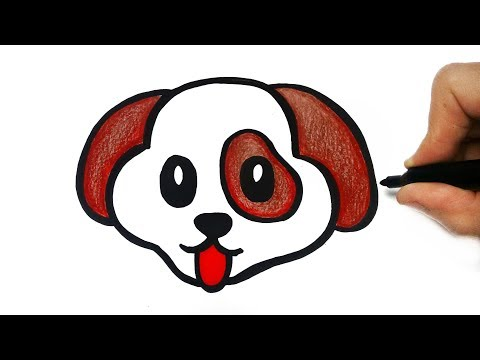 How To Draw A Dog Youtube