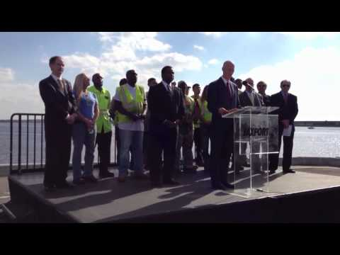 Florida Governor announces funding for port project