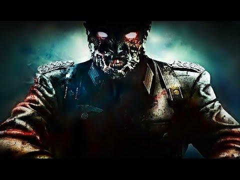 Играем в Call Of Duty: Black Ops, зомби-режим. Театр смерти с рандомами.
