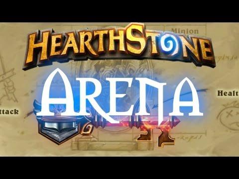 Hearthstone Arena: 9 Wins!! Game + Rewards