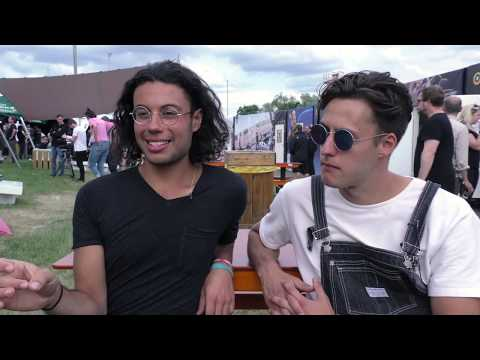 Busty and The Bass interview - Nick Ferrero & Alistair Blu (@pinkpop)
