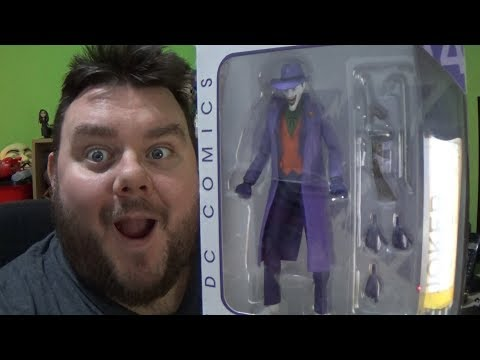"""DC Icons Joker - """"A Death In The Family"""" DC Collectibles Action Figure Review"""
