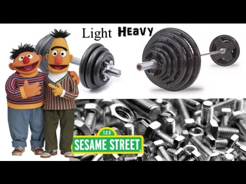 Bert and Ernie - Heavy and Light - YouTube