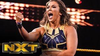 Tegan Nox vs Taynara Conti WWE NXT Oct 16 2019