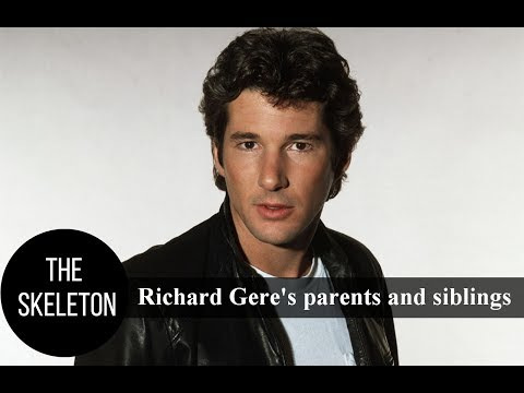 Richard Gere's parents and siblings