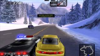 Need for Speed 4 - Hot Pursuit - Snowy Ridge 1