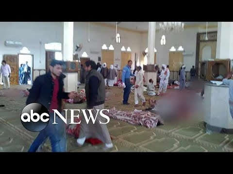 More than 300 killed after mosque terror attack in Egypt
