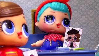 Ляльки ЛОЛ сюрприз Збірник №1 Мультфільми | Граємо разом з Вероничкой Лалалупсі