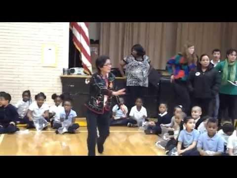 Washington Dual Language Academy Christmas Pinatas