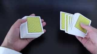 Hofzinser Spread Cull CARD CONTROL Tutorial