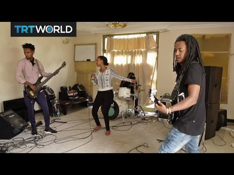 Ethiopian Band Rocking Out: Jano blends African melodies with rock riffs