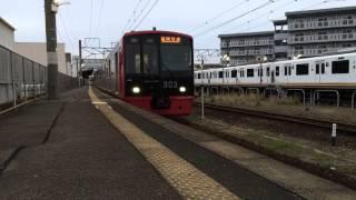 303系k02西唐津駅出発