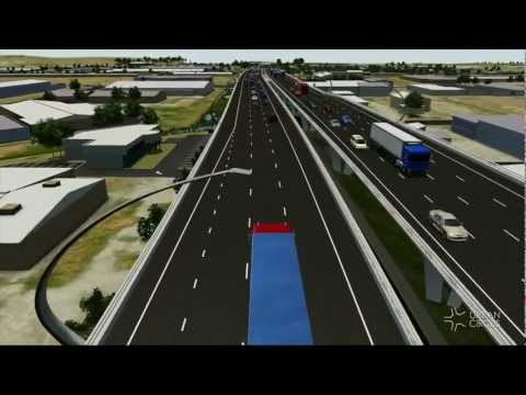 South Road Superway - 3D Virtual Model Video