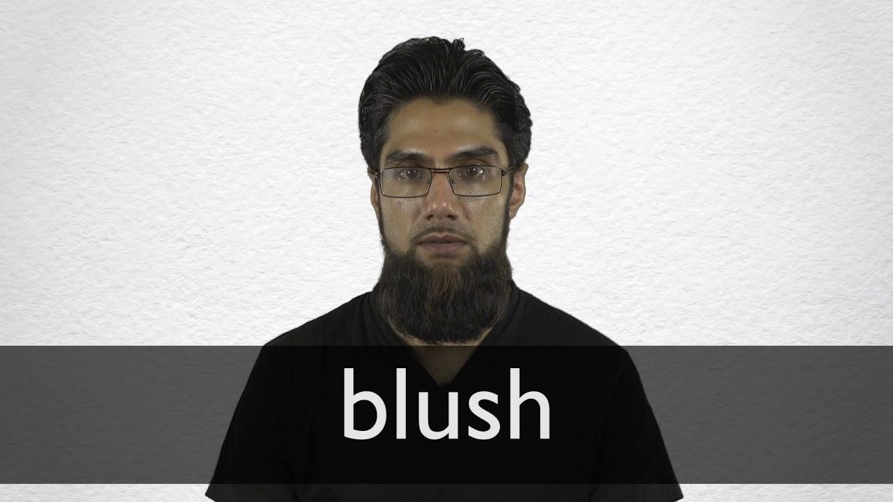 "Hindi Translation of ""blush"" | Collins English-Hindi Dictionary"