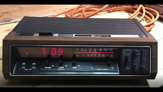 General Electric Clock Radio Extravaganza Part I - Late 70's & Early 80's