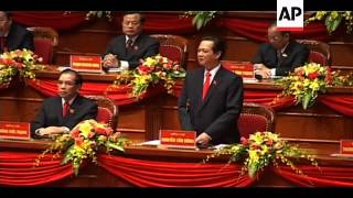 Communist Party begin congress to elect new leadership