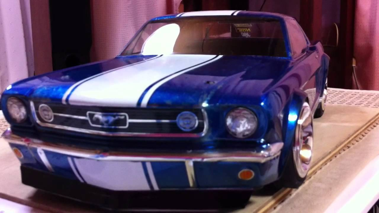 1966 Ford Hpi Rc Body Youtube