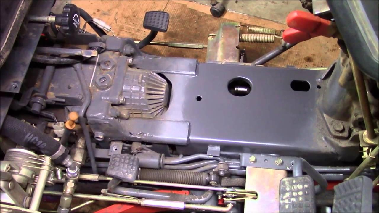 Kubota B2910 Hydraulic Hose Repair & Tractor Modification