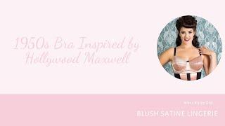 Vidéo: culotte haute Blush Satine Rose
