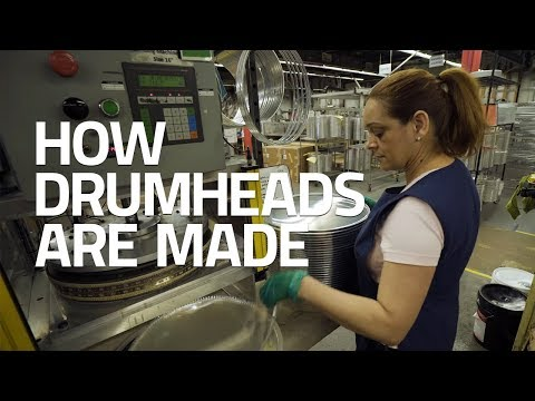 How Drumheads Are Made