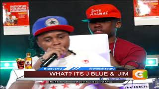 10 OVER 10 | J Blue and Jimwat exclusive on 10 over 10