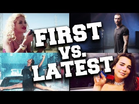Top Artists with Their First and Latest Songs #1