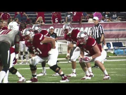 Nicholls Football At South Alabama: September 24th, 2016