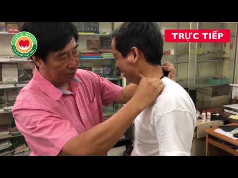 Trật khớp vai 5 năm,với tay ra sau không khỏi thắt lưng, Danh Y Đất Việt chữa