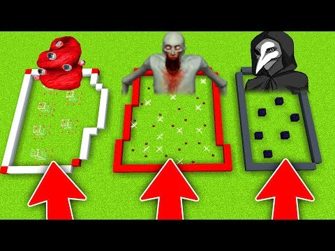 DO NOT CHOOSE THE WRONG SCP FARM in MINECRAFT! (SCP 096, SCP 049, SCP 718)