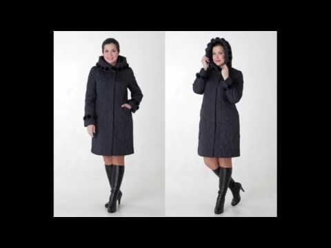 Женские стеганые пальто с мехом норки от Форте Примо