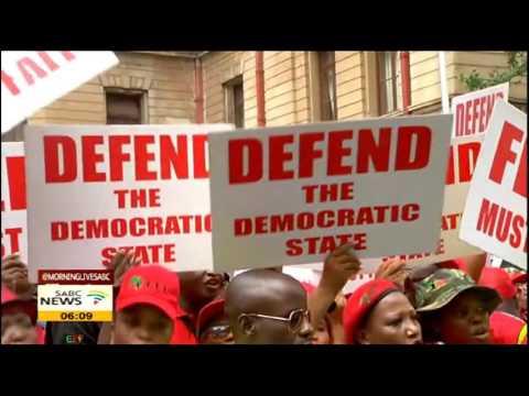 Malema calls EFF members to occupy Pretoria Wednesday
