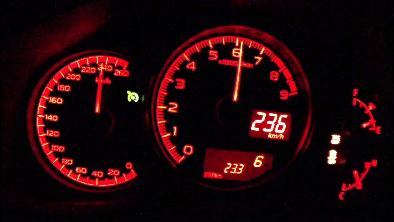 Subaru Brz Top Speed >> Subaru Brz 2013 Acceleration 0 225 Km H Vmax Test