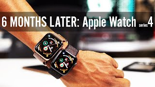 Apple Watch Series 4 In-depth Review Accessories & MORE 6 MONTHS LATER