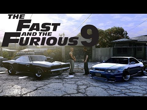 FAST AND FURIOUS 9 ✪  TRAILER 2018 ✪ GTA 5