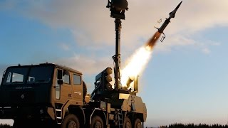 Saab BAMSE Surface-to-Air missile system 2016