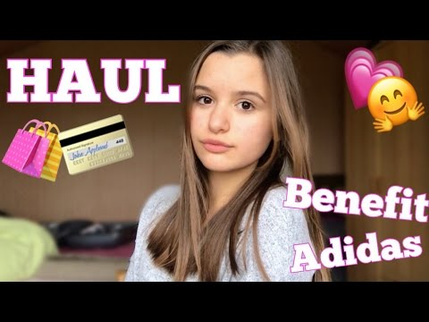 Haul ♡ (Benefit, adidas, action, ikea)
