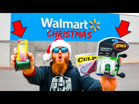 Christmas Gear ONLY Fishing Challenge (Walmart)